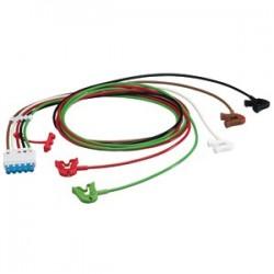 M1968A Cable 5 puntas ECG AAMI ICU 1.6MT pinzas/caimán