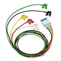 M1971A Cable 5 puntas ECG IEC ICU 1.6MT pinza/caimán