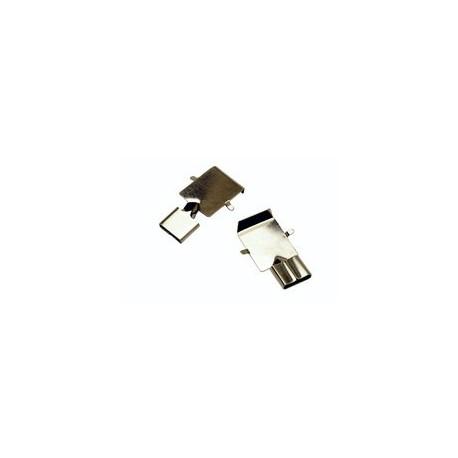 40421A Electrodo de perilla reusable copa 15mm. (Perillas Precordiales) C/6 piezas