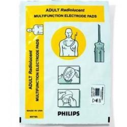M3716A Electrodos HeartStart radiolucentes para adultos/niños C/10 PZS