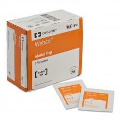 6818 Webcol doble capa tamaño mediano estéril Colectivo con 20 cajas con 200 piezas
