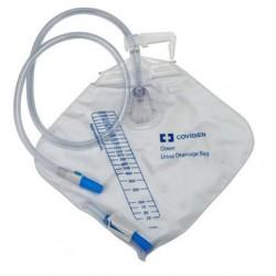 Bolsa de drenaje urinario c/sistema cerrado y cámara antireflujo kenguard de 2000 ml