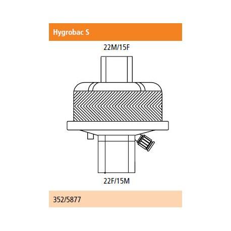 Filtro higrobac S filtro humidificador electrostático