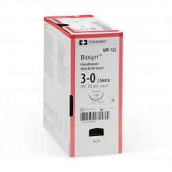 CM812 Biosyn 0 75 CM GS21 redonda/ahusada cierre general 37 1/2 Caja con 36 piezas