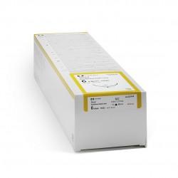 FA54901 Hilo de acero inoxidable cal 1 DE 45 CM largo aguja cortante de 1/2 DE 25MM Caja con 12 piezas