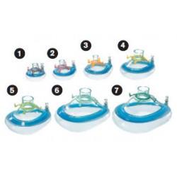 MP01513 Mascarilla oronasal, anestesia,ComfortStar®, desechable, anillo de enganche, tamaño 3, niño