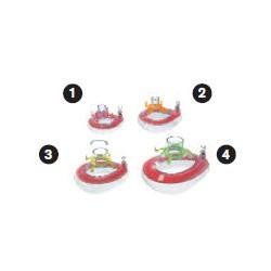 MP01523 Mascarilla oronasal, anestesia,ComfortStar®, desechable, anillo de enganche, aroma fresa, tamaño 3, niño
