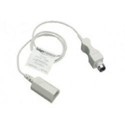 Cable adaptador p/sensor de temperatura cutánea 4, reusable. AIR-SHIELDS® ISOLETTE® C2000/8000