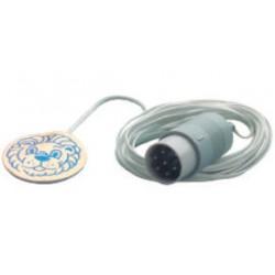 MU11228 Sensor de temperatura cutánea 3, desechable, C/10pzas AIR-SHIELDS® RESUSCITAIRE®
