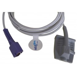 CR001-Nellcor(Oxi)-001 Sensor de dedo SpO2 adulto,1.1M,DB9PIN