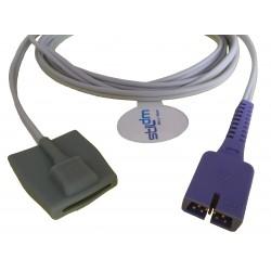 CR001-Nellcor(Oxi)-005 Sensor SpO2 neonatal silicón,1.1M,DB9PIN