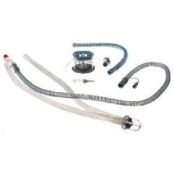 MP02607-P Circuito respiratorio VentStar®, sin látex, desechable, VentStar Helix, hilo calefator