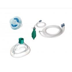 Circuito de anestesia neonatal completo filtro y mascarilla