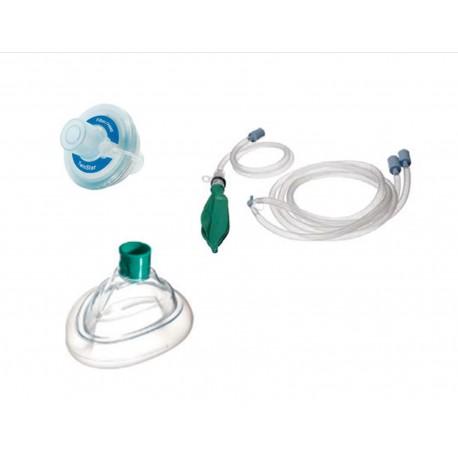 Circuito Bain : Circuito de anestesia neonatal completo filtro y mascarilla