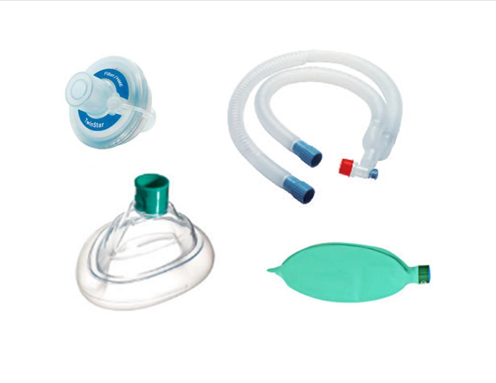Circuito Bain : Circuito de anestesia expandible vent set sin látex desechable