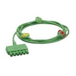 CABLE ECG 3 DER.CONECTOR PIN SENC.MoLead
