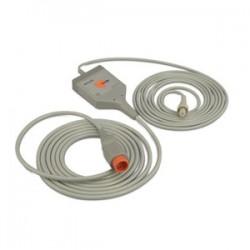 Cable ECG para uso con análisis de contorno de pulso