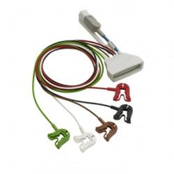 Cable de paciente ECG AAMMI+SPO2