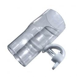 Adaptador con puerto de exhalación desechable