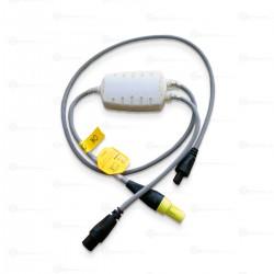 900MR805 CABLE CALENTADOR PARA CIRCUITO DE VENTILACIÓN CON CABLE EN LAS DOS LÍNEAS PARA HUMIDIFICADORE MR850 Y HC550