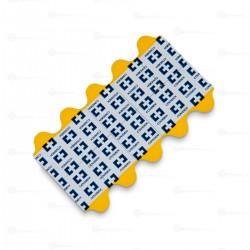 30807732 Electrodo de diagnostico , ECG en reposo de lengüeta para caimán , de hidrogel adhesivo-conductivo