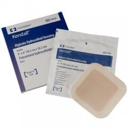 9809 Apósito hidrocoloide con alginato de calcio y bordes adhesivos 10.2X10.2 CM Colectivo con 10 cajas con 5 piezas