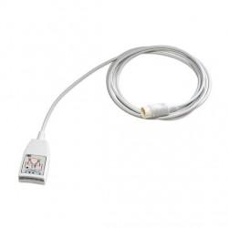 M1668A Cable troncal 5 puntas ECG AAMI/IEC 12PIN 2.7MT