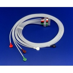 M1625A Cable 5 puntas ECG AAMI 1.6MT snap / broche