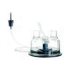 Cámara de humidificación desechable de alimentación automática no ventilada para adulto/ pediátrico/neonato