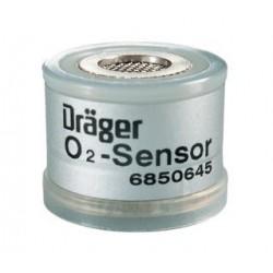 6850645 Celda de oxigeno O2 capsula familia FABIUS, EVITA, BABYLOG 8000 PLUS,INCUBADORA 8000, NARKOMED (V.U. 8MS)